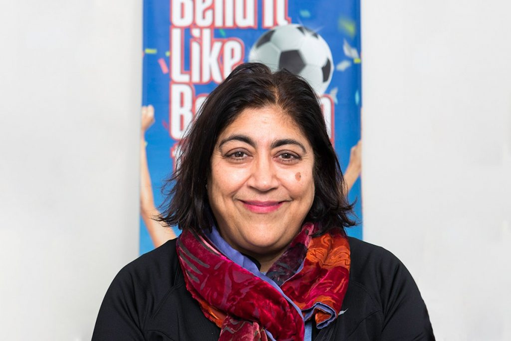 Gurinder Chadha, Artistic Director of Bend It Like Beckham the Musical